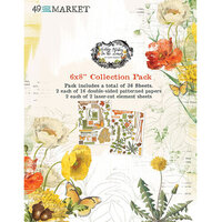 49 and Market - Vintage Artistry In The Leaves Collection - 6 x 8 Collection Pack