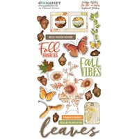 49 and Market - Vintage Artistry In The Leaves Collection - Chipboard Stickers