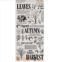 49 and Market - Vintage Artistry In The Leaves Collection - Washi Tape Sheet
