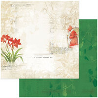 49 and Market - Christmas - Vintage Artistry Noel Collection - 12 x 12 Double Sided Paper - Tradition