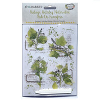 49 and Market - Vintage Artistry Naturalist Collection - Rub-On Transfers