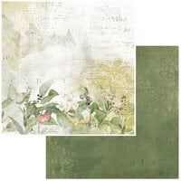 49 and Market - Vintage Artistry Naturalist Collection - 12 x 12 Double Sided Paper - Meadow