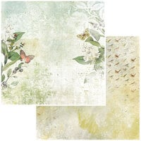 49 and Market - Vintage Artistry Naturalist Collection - 12 x 12 Double Sided Paper - Countryside