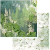 49 and Market - Vintage Artistry Naturalist Collection - 12 x 12 Double Sided Paper - Rainforest