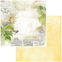 49 and Market - Vintage Artistry Naturalist Collection - 12 x 12 Double Sided Paper - Classified