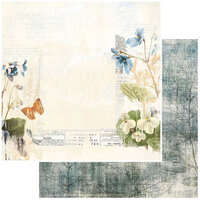 49 and Market - Vintage Artistry Wedgewood Collection - 12 x 12 Double Sided Paper - Rarified