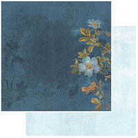 49 and Market - Vintage Artistry Wedgewood Collection - 12 x 12 Double Sided Paper - Revel