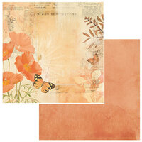 49 and Market - Vintage Artistry Wedgewood Collection - 12 x 12 Double Sided Paper - Afterglow