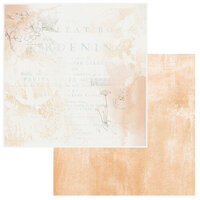 49 and Market - Vintage Artistry Wedgewood Collection - 12 x 12 Double Sided Paper - Sunset