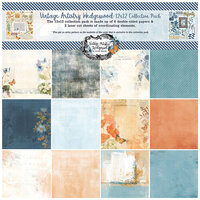 49 and Market - Vintage Artistry Wedgewood Collection - 12 x 12 Collection Pack
