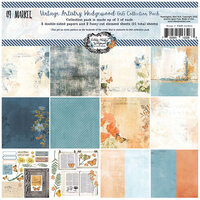 49 and Market - Vintage Artistry Wedgewood Collection - 6 x 6 Collection Pack