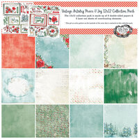 49 and Market - Vintage Artistry Peace and Joy Collection - 12 x 12 Collection Pack