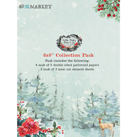 49 and Market - Vintage Artistry Peace and Joy Collection - 6 x 8 Collection Pack