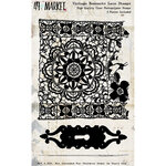 49 and Market - Vintage Remnants Collection - Clear Photopolymer Stamps - Lace