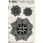 49 and Market - Vintage Remnants Collection - Clear Photopolymer Stamps - Doilies
