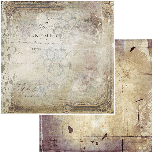 49 and Market - Vintage Remnants Collection - 12 x 12 Double Sided Paper - Paper 1