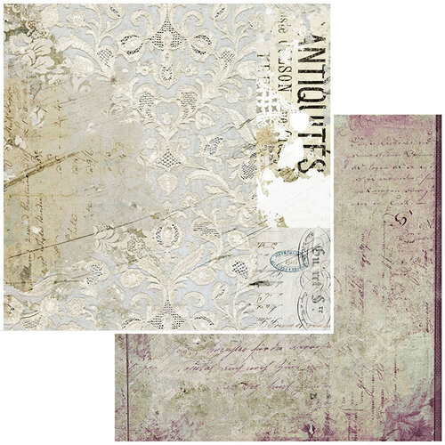 49 and Market - Vintage Remnants Collection - 12 x 12 Double Sided Paper - Paper 3
