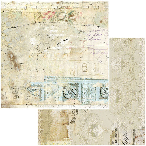 49 and Market - Vintage Remnants Collection - 12 x 12 Double Sided Paper - Paper 7