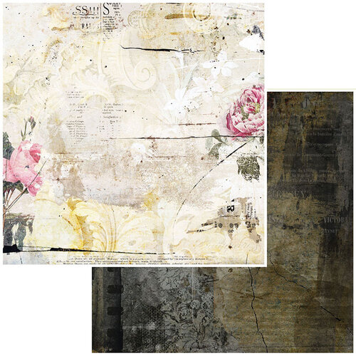 49 and Market - Vintage Remnants Collection - 12 x 12 Double Sided Paper - Paper 8