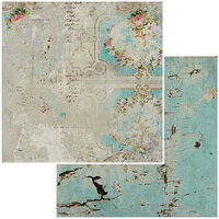 49 and Market - Vintage Remnants Collection - 12 x 12 Double Sided Paper - Paper 10