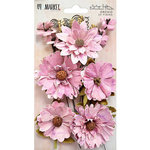 49 and Market - Flower Embellishments - Botanical Blends - Vintage Shades - Orchid