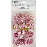 49 and Market - Handmade Flowers - Vintage Shades - Orchid Potpourri
