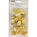 49 and Market - Handmade Flowers - Vintage Shades - Yellow Potpourri