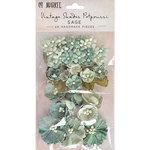 49 and Market - Handmade Flowers - Vintage Shades - Sage Potpourri