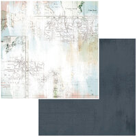49 and Market - Vintage Artistry Anywhere Collection - 12 x 12 Double Sided Paper - Quest