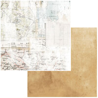 49 and Market - Vintage Artistry Anywhere Collection - 12 x 12 Double Sided Paper - Fragments