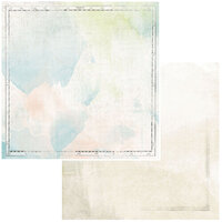 49 and Market - Vintage Artistry Anywhere Collection - 12 x 12 Double Sided Paper - Edges