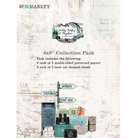 49 and Market - Vintage Artistry Anywhere Collection - 6 x 8 Collection Pack