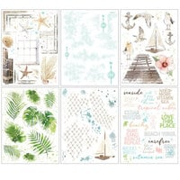 49 and Market - Vintage Artistry Beached Collection - Rub-On Transfers