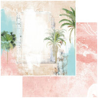 49 and Market - Vintage Artistry Beached Collection - 12 x 12 Double Sided Paper - Uninhibited