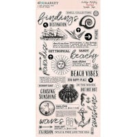 49 and Market - Vintage Artistry Beached Collection - Washi Tape Die Cut Sheet