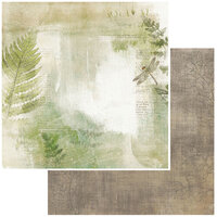 49 and Market - Vintage Artistry Hike More Collection - 12 x 12 Double Sided Paper - In The Thicket