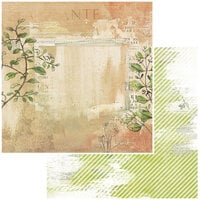 49 and Market - Vintage Artistry Hike More Collection - 12 x 12 Double Sided Paper - Bramble