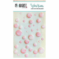49 and Market - Wishing Bubbles - Epoxy Stickers - Taffy