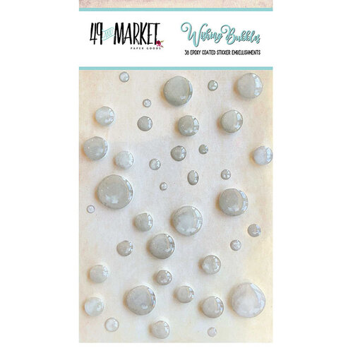 49 and Market - Wishing Bubbles - Epoxy Stickers - Soda Pop