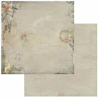 49 and Market - Winters Edge Collection - Christmas - 12 x 12 Double Sided Paper - Illuminating