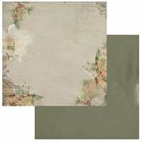 49 and Market - Winters Edge Collection - Christmas - 12 x 12 Double Sided Paper - Frolic