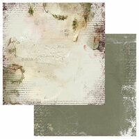 49 and Market - Winters Edge Collection - Christmas - 12 x 12 Double Sided Paper - Good Cheer