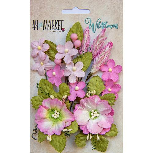 49 and Market - Flower Embellishments - Wildflowers - Blush
