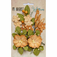 49 and Market - Flower Embellishments - Wildflowers - Ginger