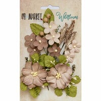 49 and Market - Flower Embellishments - Wildflowers - Mushroom