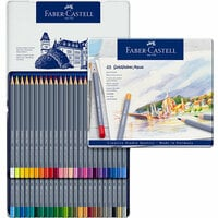 Faber-Castell - Goldfaber - Aqua Watercolor Pencil - Tin of 48
