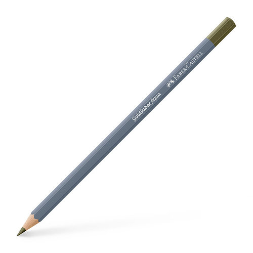 Faber-Castell - Goldfaber - Aqua Watercolor Pencil - 173 - Olive Green Yellowish