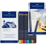 Faber-Castell - Goldfaber - Color Pencil - Tin of 12