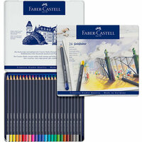 Faber-Castell - Goldfaber - Color Pencil - Tin of 24