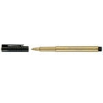 Faber-Castell - Mix and Match Collection - Pitt Artist Pens - Metallic - 250 - Gold